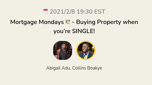 Mortgage Mondays 🏘 - Buying Property when you're SINGLE!