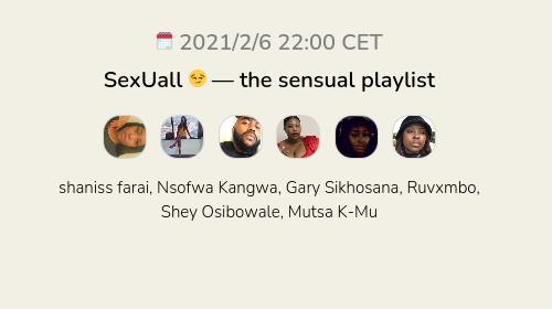 SexUall 😏 — the sensual playlist