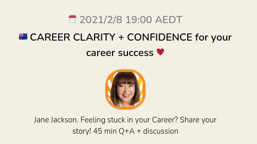 🇦🇺 CAREER CLARITY + CONFIDENCE for your career success ♥️
