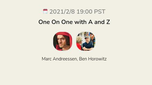 One On One with A and Z