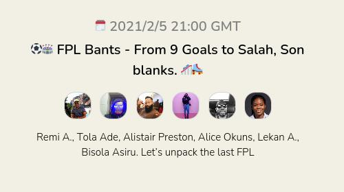 ⚽️🏟 FPL Bants - From 9 Goals to Salah, Son blanks. 🎢