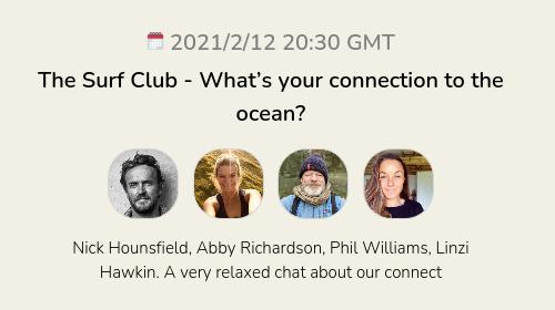 The Surf Club - What's your connection to the ocean?