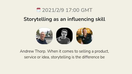 Storytelling as an influencing skill