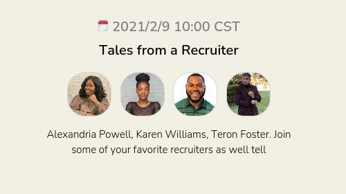 Tales from a Recruiter