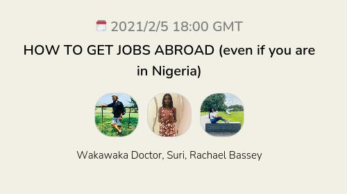 HOW TO GET JOBS ABROAD (even if you are in Nigeria)