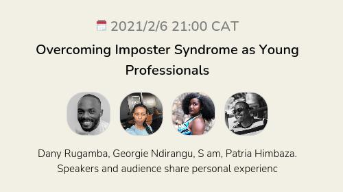 Overcoming Imposter Syndrome as Young Professionals