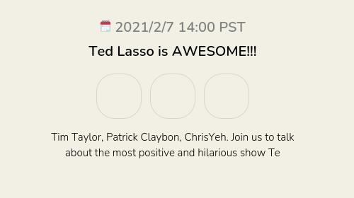 Ted Lasso is AWESOME!!!