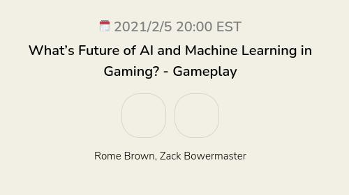 What's Future of AI and Machine Learning in Gaming? - Gameplay