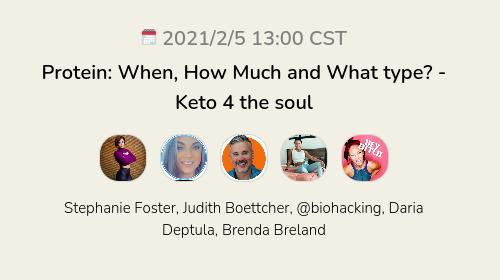 Protein: When, How Much and What type? - Keto 4 the soul