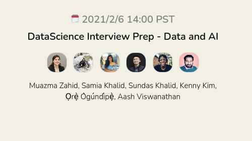 DataScience Interview Prep - Data and AI