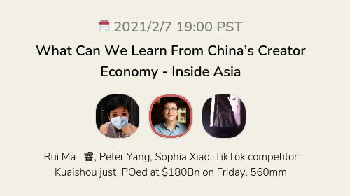 What Can We Learn From China's Creator Economy - Inside Asia