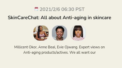 SkinCareChat: All about Anti-aging in skincare