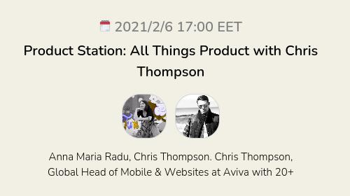 Product Station: All Things Product with Chris Thompson