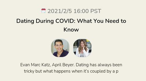 Dating During COVID: What You Need to Know