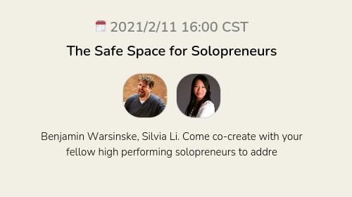 The Safe Space for Solopreneurs