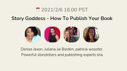 Story Goddess - How To Publish Your Book
