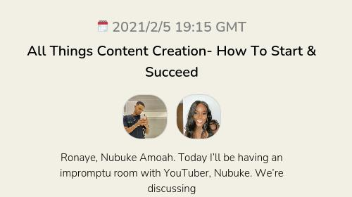 All Things Content Creation- How To Start & Succeed