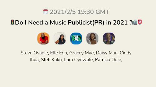 🚦Do I Need a Music Publicist(PR) in 2021 ?📠📮
