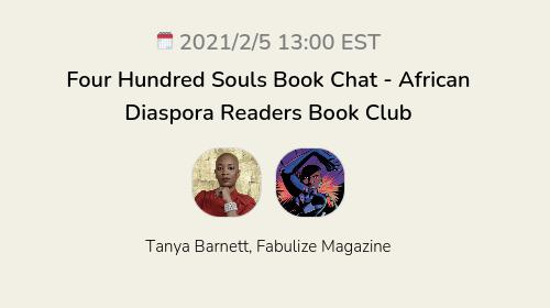 Four Hundred Souls Book Chat - African Diaspora Readers Book Club