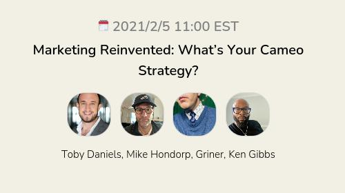 Marketing Reinvented: What's Your Cameo Strategy?