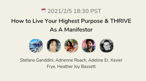 How to Live Your Highest Purpose & THRIVE As A Manifestor