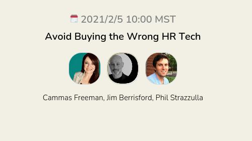 Avoid Buying the Wrong HR Tech
