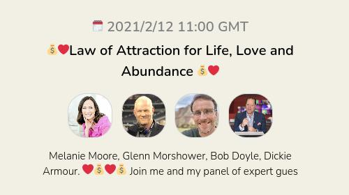 💰❤️Law of Attraction for Life, Love and Abundance 💰❤️
