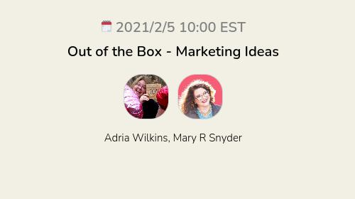 Out of the Box - Marketing Ideas