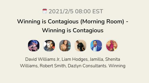 Winning is Contagious (Morning Room) - Winning is Contagious
