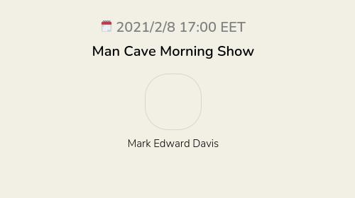 Man Cave Morning Show