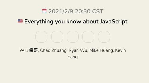 🇺🇸 Everything you know about JavaScript