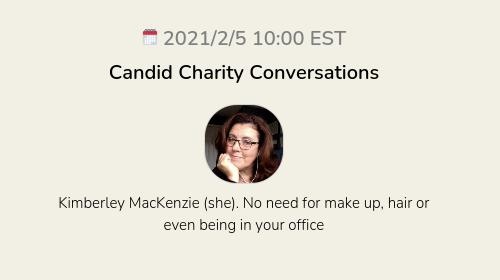 Candid Charity Conversations