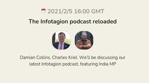 The Infotagion podcast reloaded