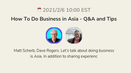 How To Do Business in Asia - Q&A and Tips