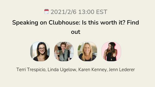 Speaking on Clubhouse: Is this worth it? Find out