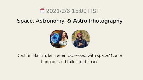 Space, Astronomy, & Astro Photography