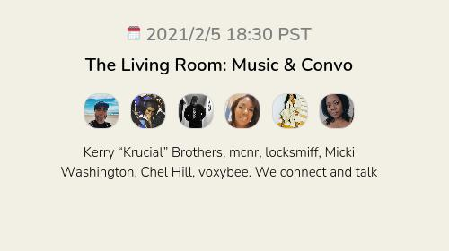The Living Room: Music & Convo