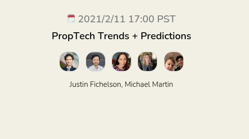 PropTech Trends + Predictions