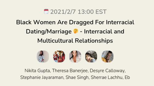 Black Women Are Dragged For Interracial Dating/Marriage 🤔 - Interracial and Multicultural Relationships