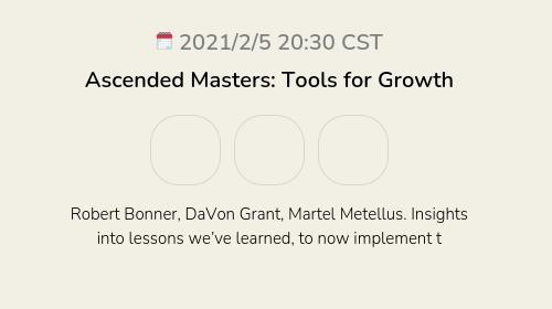 Ascended Masters: Tools for Growth
