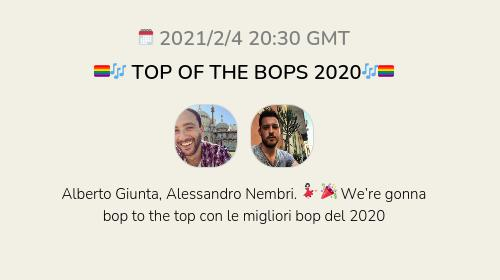 🏳️🌈🎶 TOP OF THE BOPS 2020🎶🏳️🌈