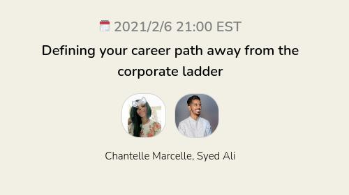 Defining your career path away from the corporate ladder