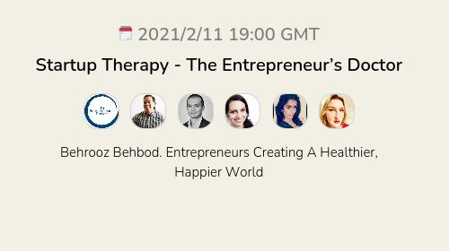 Startup Therapy - The Entrepreneur's Doctor