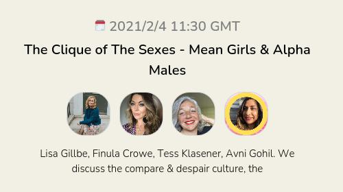The Clique of The Sexes - Mean Girls & Alpha Males