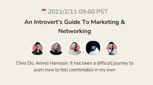 An Introvert's Guide To Marketing & Networking