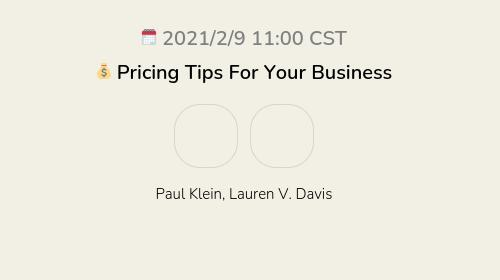 💰 Pricing Tips For Your Business