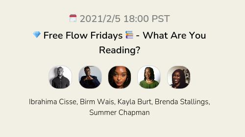 💎 Free Flow Fridays 📚 - What Are You Reading?
