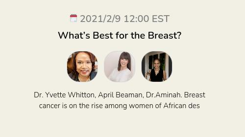 What's Best for the Breast?