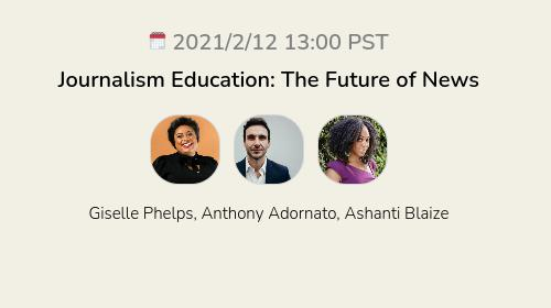 Journalism Education: The Future of News