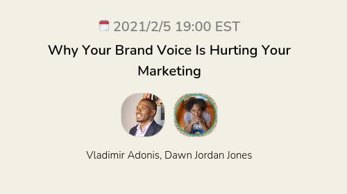 Why Your Brand Voice Is Hurting Your Marketing